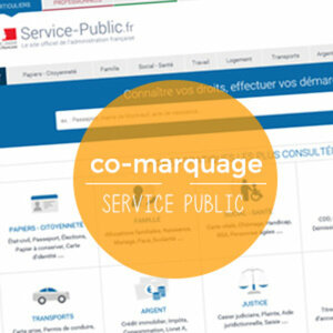 Le co-marquage Service Public